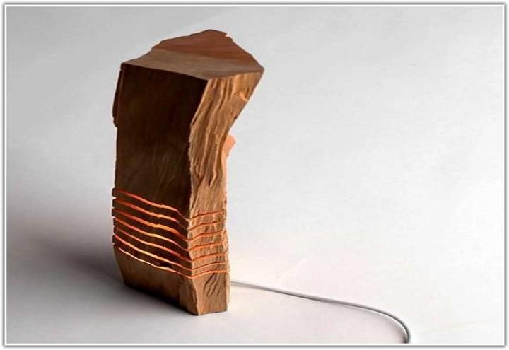 Threshold Wood Tripod Table Lamp Base