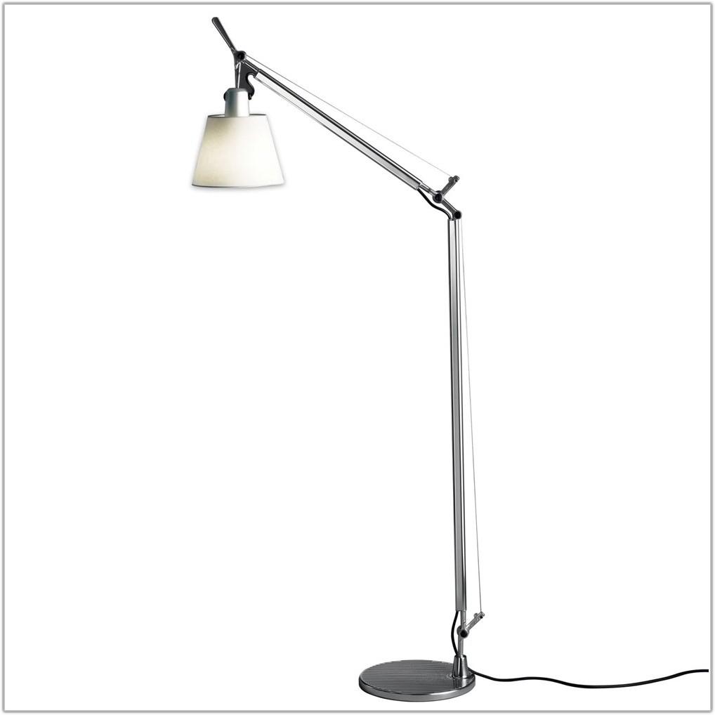 Tiffany Floor Lamp With Reading Light