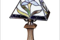 Tiffany Mini Accent Table Lamp