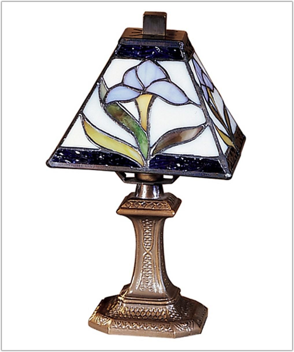 Tiffany Mini Accent Table Lamp