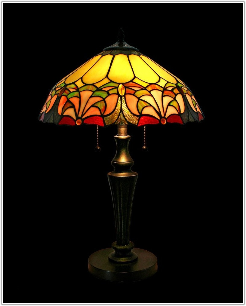 Tiffany Stained Glass Lamp Shade Patterns