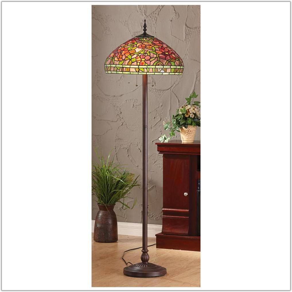Tiffany Style Butterfly Floor Lamp