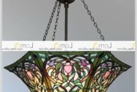 Tiffany Style Hanging Lamp Shades