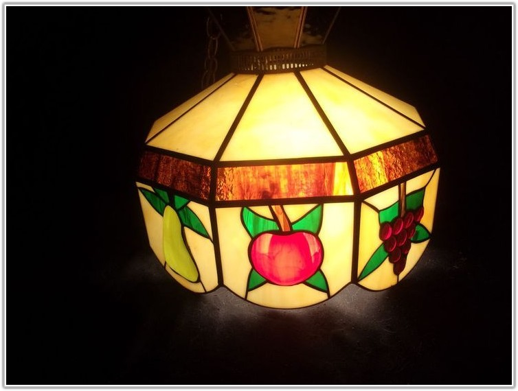 Tiffany Style Hanging Lamps Fruit Lamps Home Decorating Ideas
