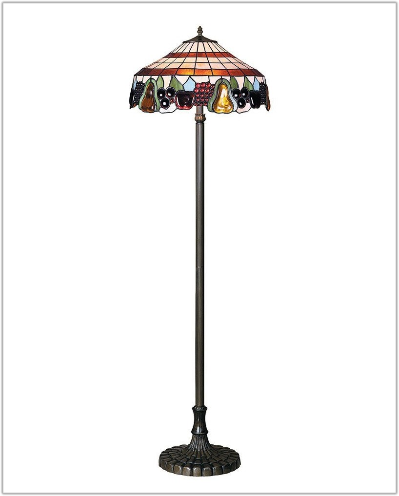 Tiffany Style Stained Glass Floor Lamps