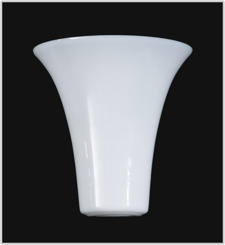 Torchiere Floor Lamp Glass Shade
