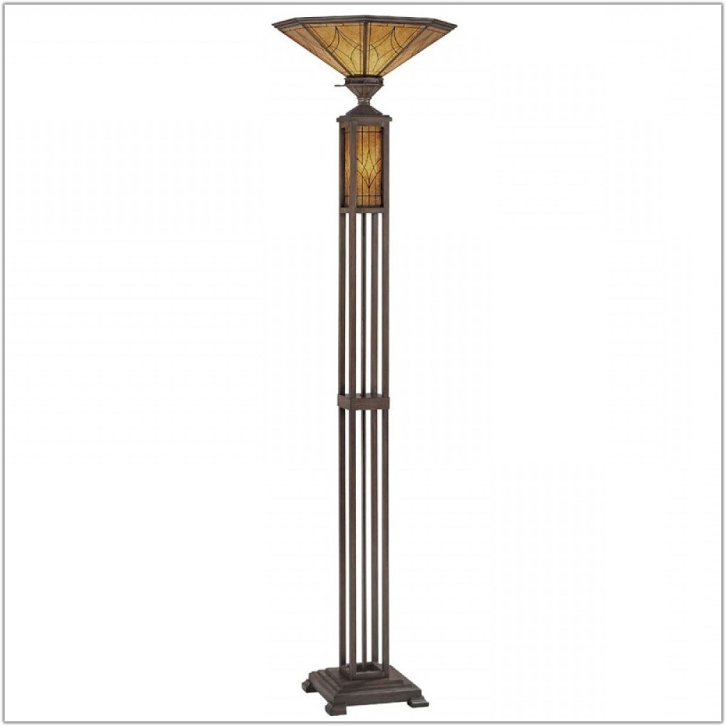 Torchiere Floor Lamp With Night Light