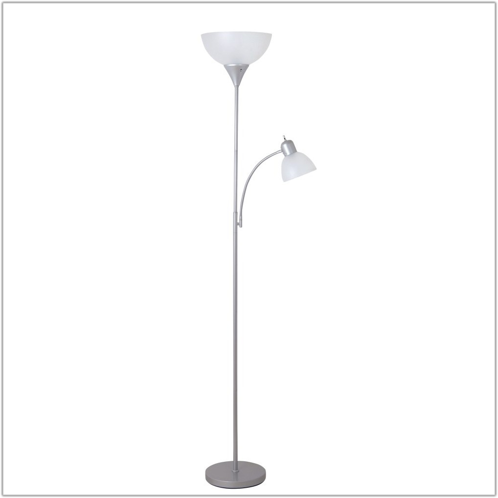 Torchiere Floor Lamp With Reading Light