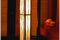 Traditional Japanese Style Floor Lamp