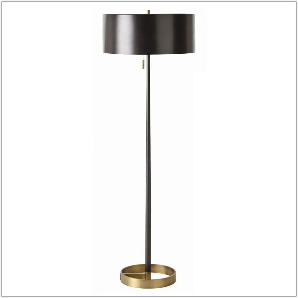 Tray Table Floor Lamp Wood