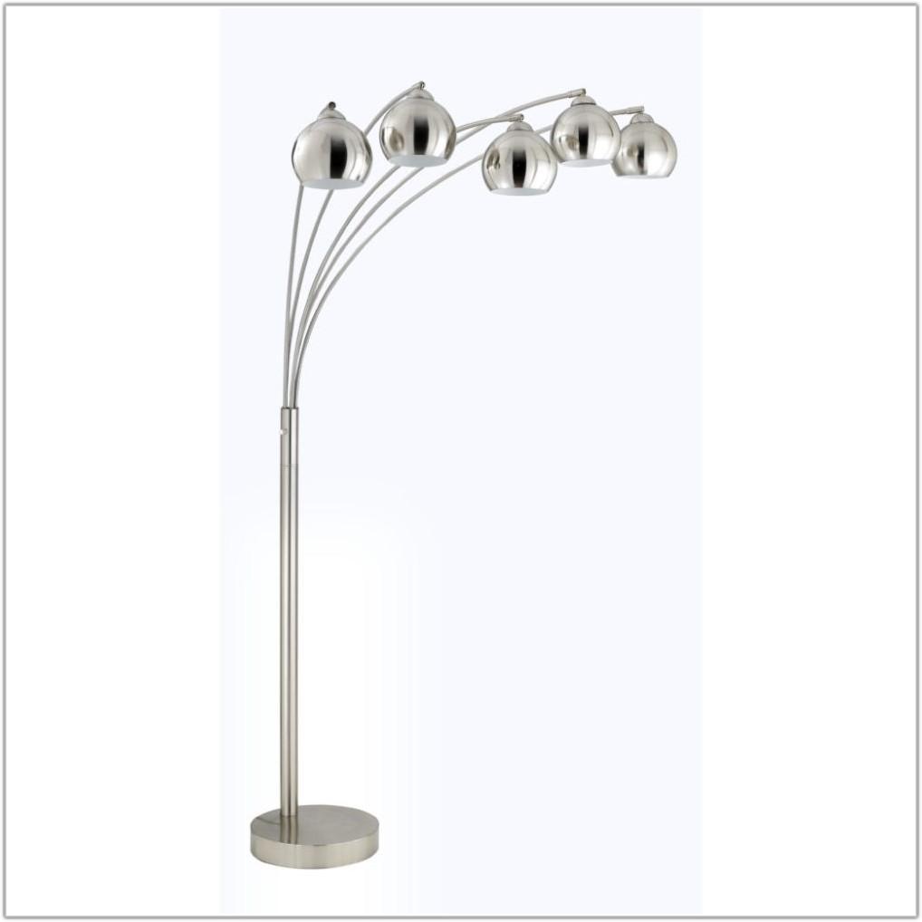 Triad 3 Light Arc Floor Lamp