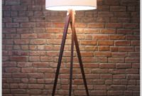 Tripod Wood Floor Lamp Diy