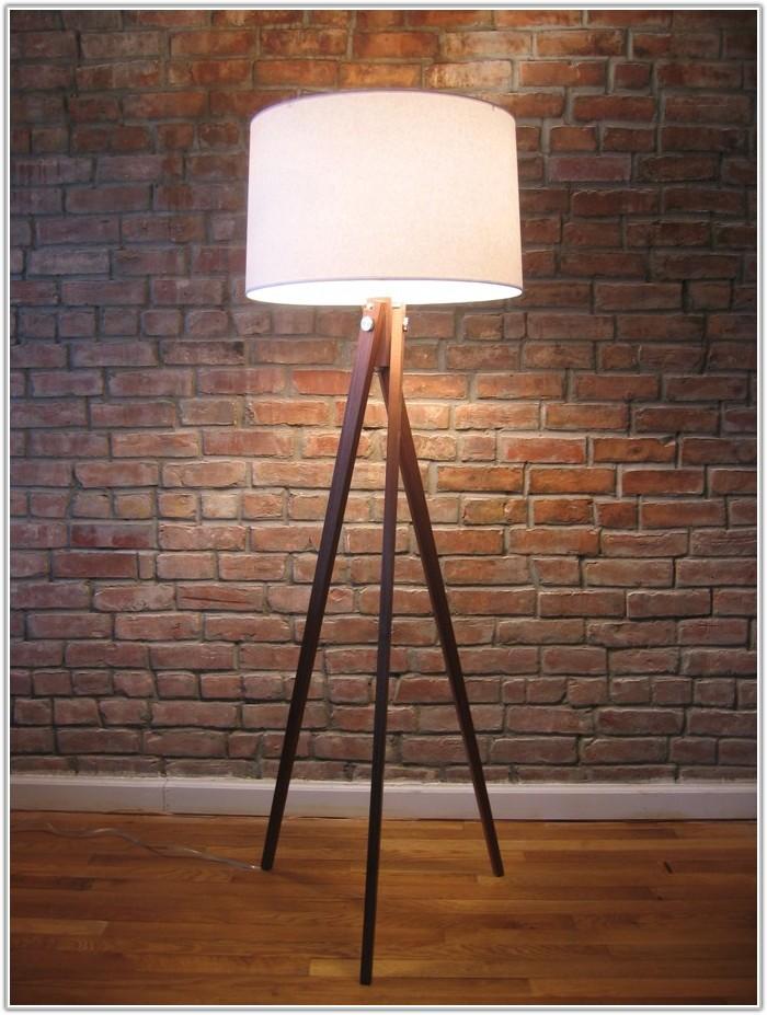 Tripod Wood Floor Lamp Diy