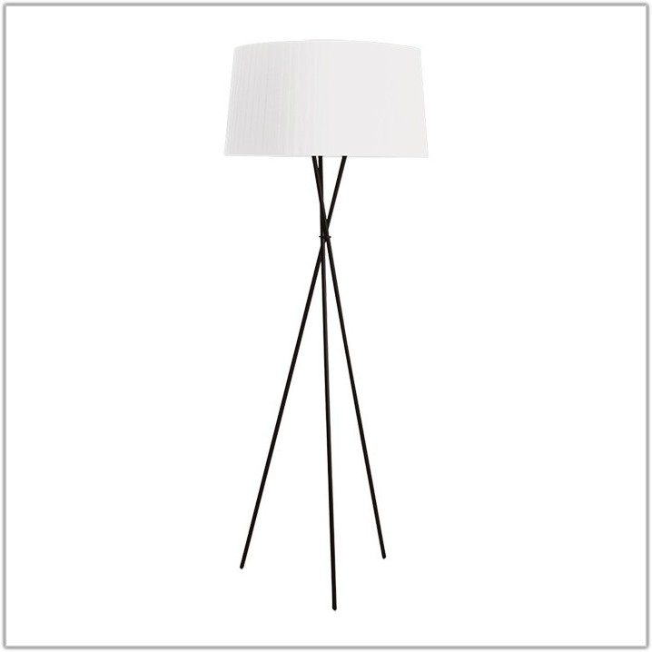 Tripod Wood Floor Lamp Naturalwhite