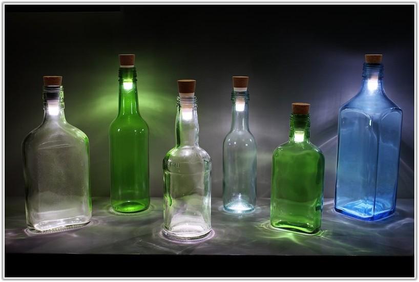 Turn Bottle Into Led Lamp