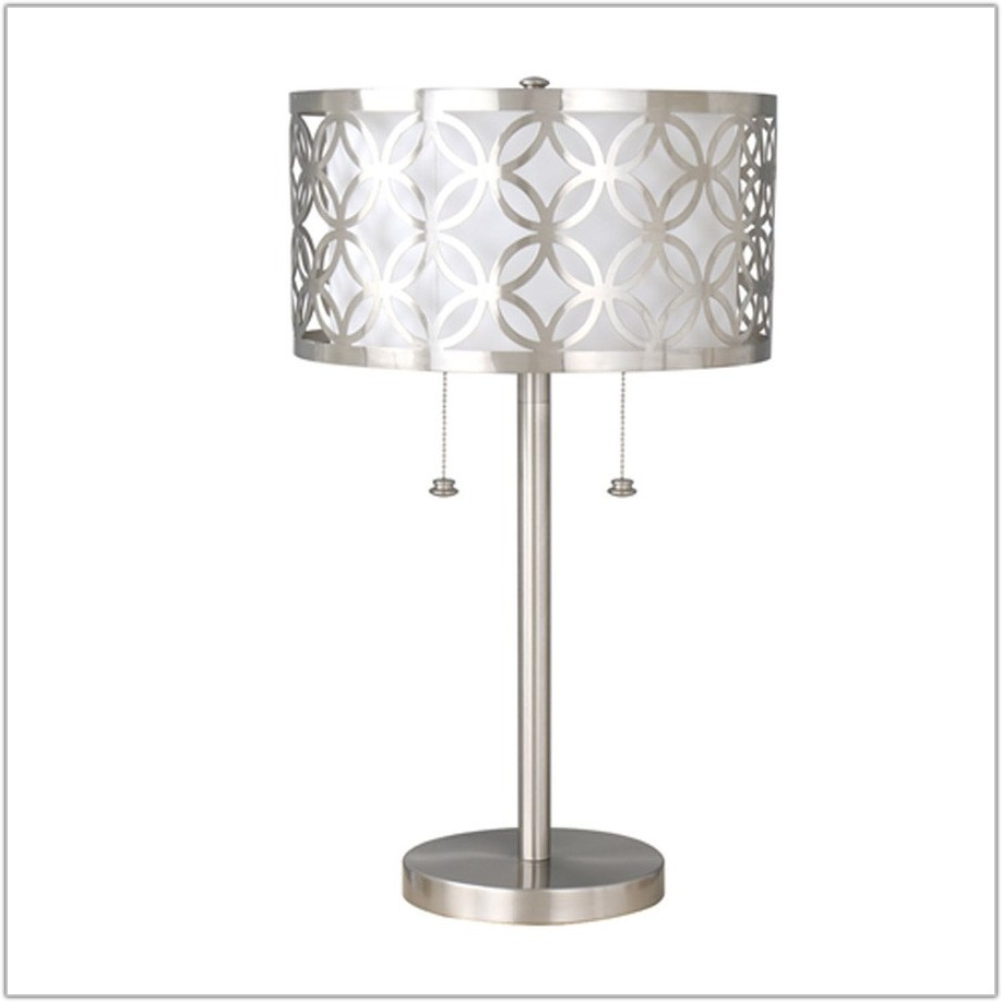 Twin Pull Chain Table Lamp