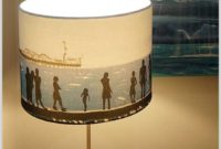 Very Large Drum Lamp Shades