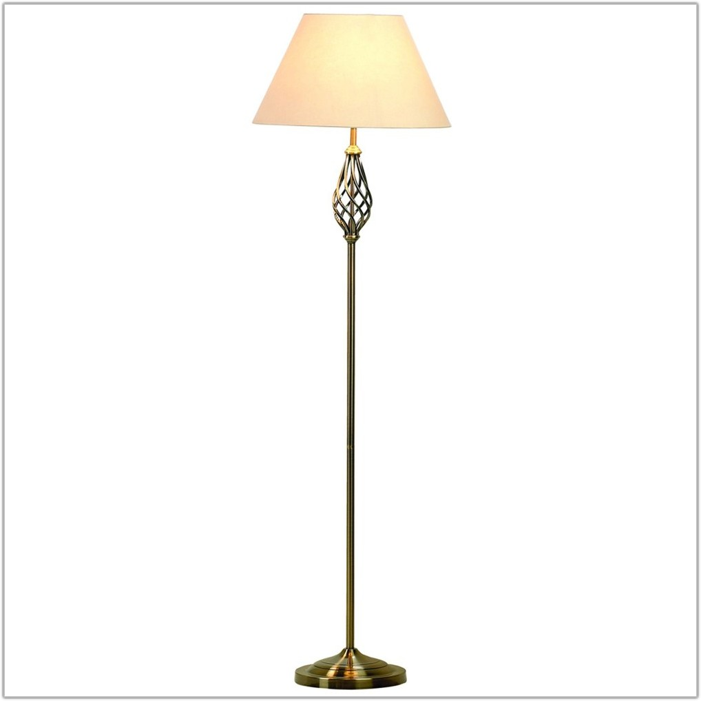 Vintage Antique Brass Floor Lamps