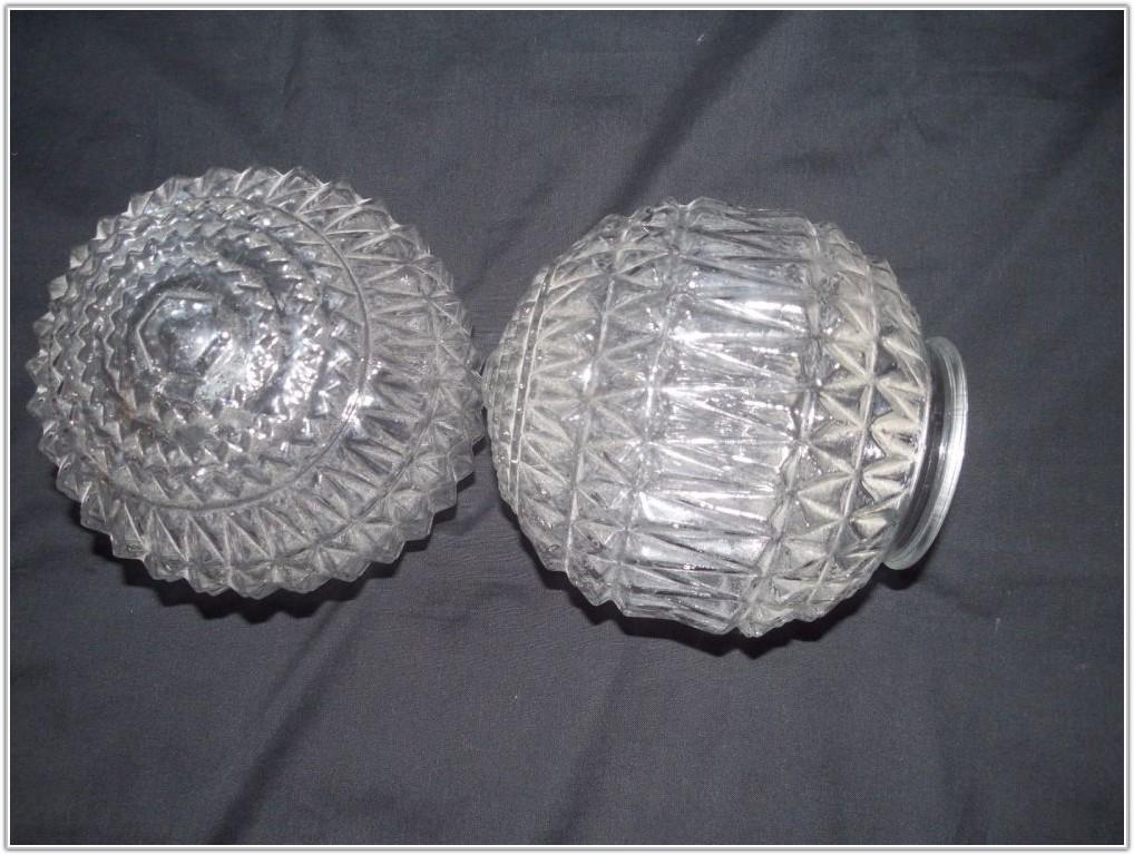 Vintage Art Deco Glass Lamp Shades