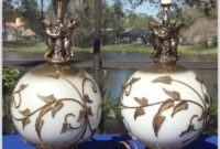 Vintage Brass Table Lamps Ebay
