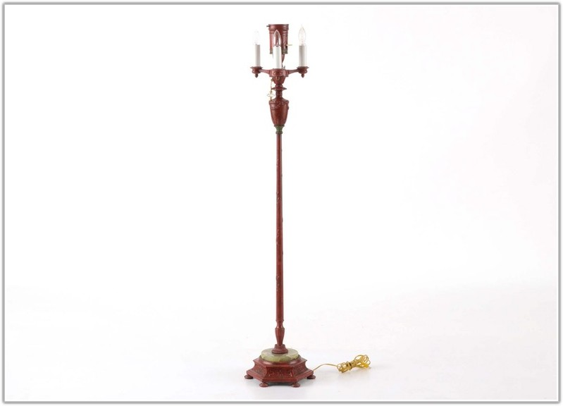 Vintage Floor Lamp With Night Light