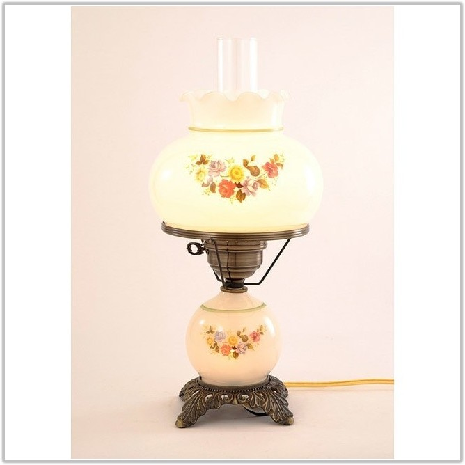 Vintage Floor Lamps With Glass Table