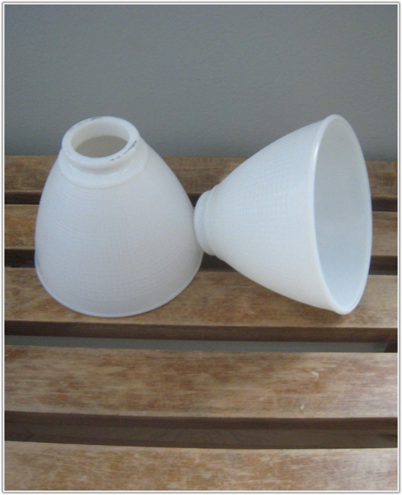 Vintage Glass Lamp Shades Replacement
