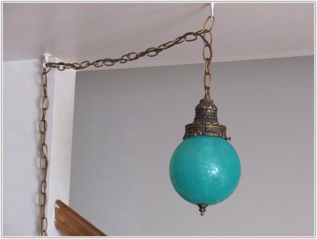 Vintage Hanging Lamps Plug In