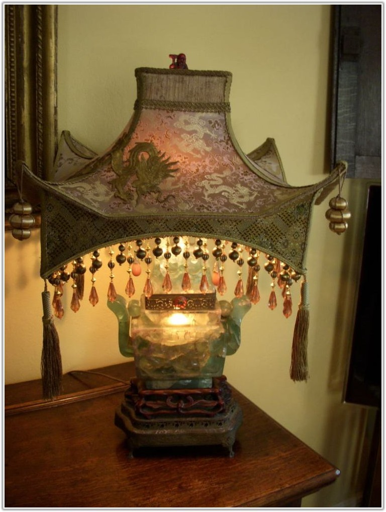 Vintage Lamp Shades For Table Lamps