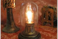 Vintage Lamps With Night Light In Base