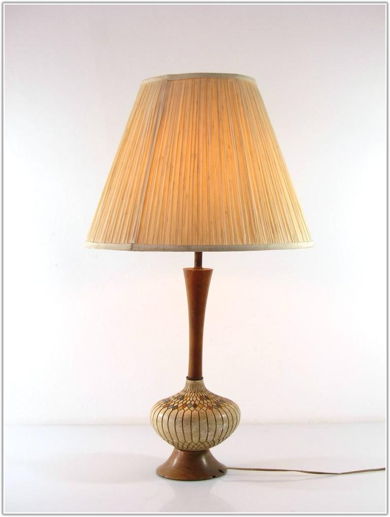 Vintage Large Ceramic Table Lamp