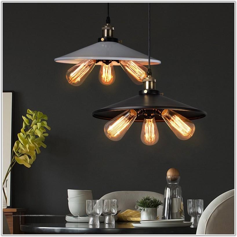 Vintage Light Bulb Hanging Lamp