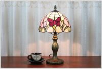 Vintage Stained Glass Table Lamps