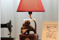 Vintage Style Bedside Table Lamps