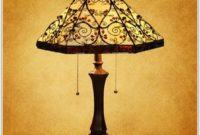 Vintage Tiffany Style Table Lamps