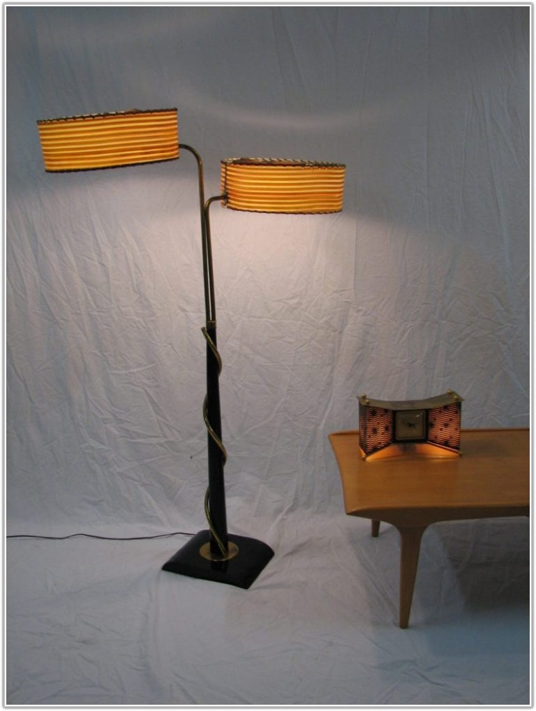 Vintage Torchiere Floor Lamp Shades
