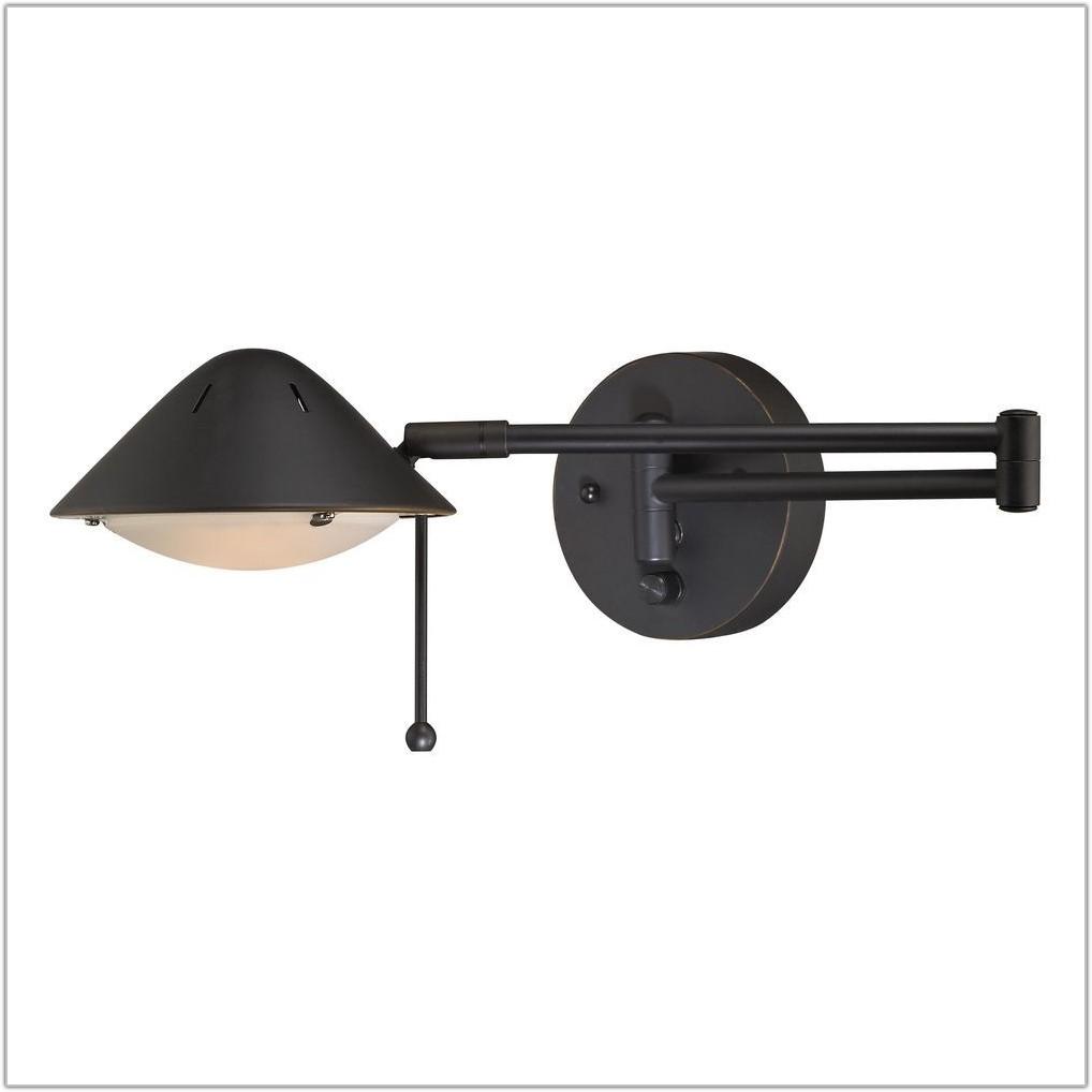 Wall Lamp Plug In Swing Arm