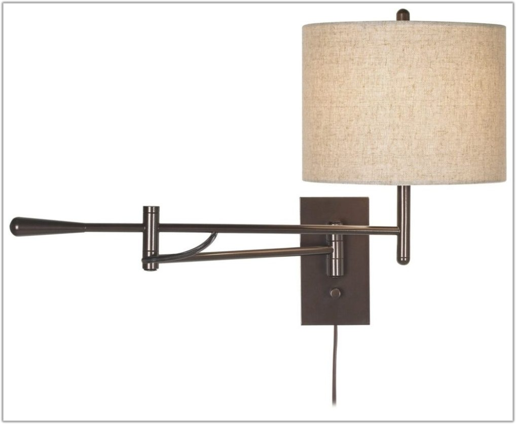 Wall Lamp With Plug In Cord