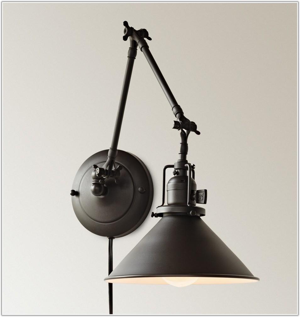 Wall Lamps Swing Arm Plug In