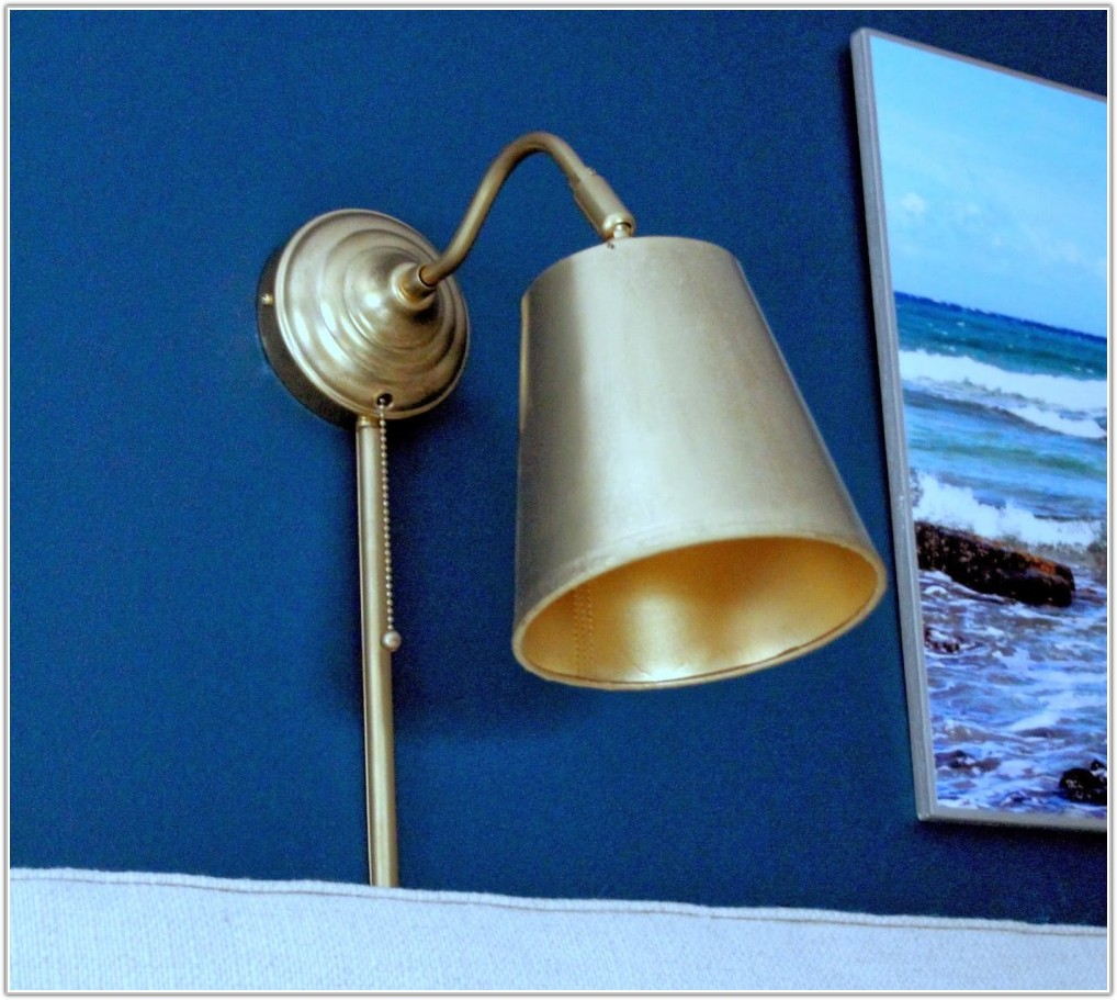 Wall Lamps With Cord Home Depot