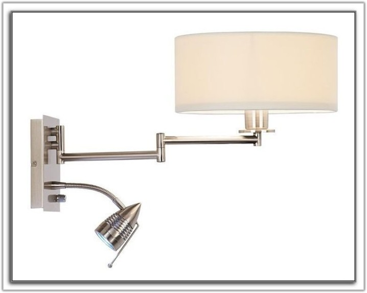 Wall Mount Light Fixture Plug In