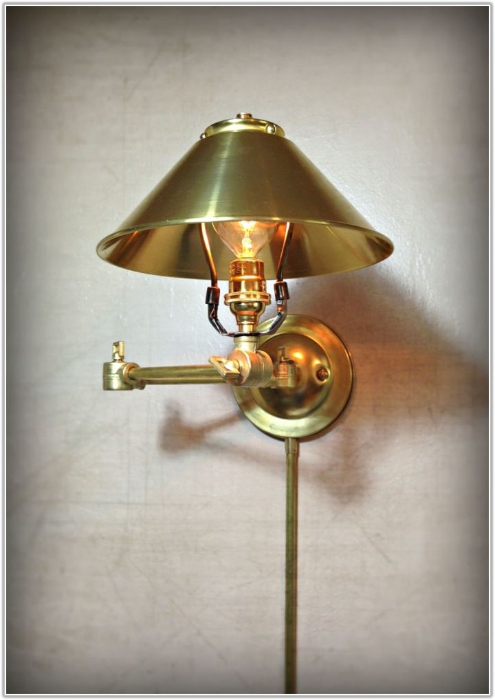 Wall Mount Sconce Plug In