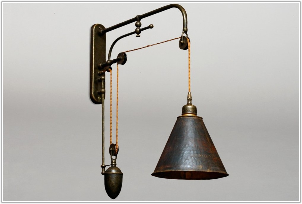 Wall Mounted Plug In Reading Lamps