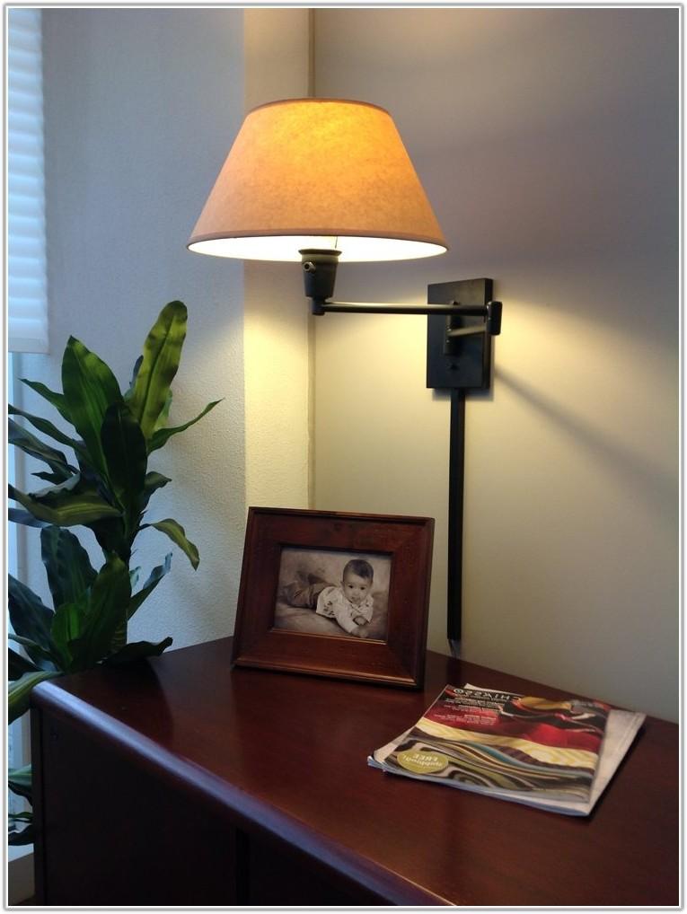 Wall Mounted Reading Lamp Plug In