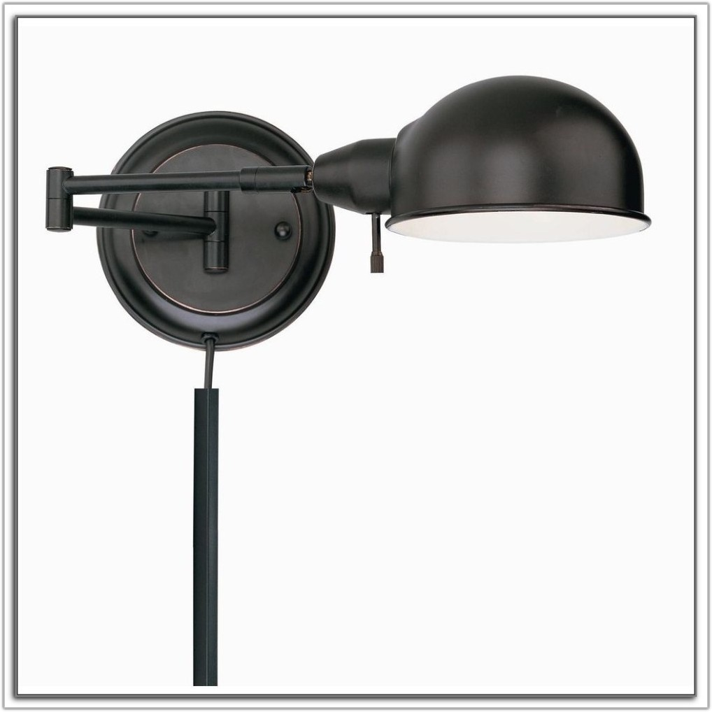 Wall Swing Arm Lamps Plug In