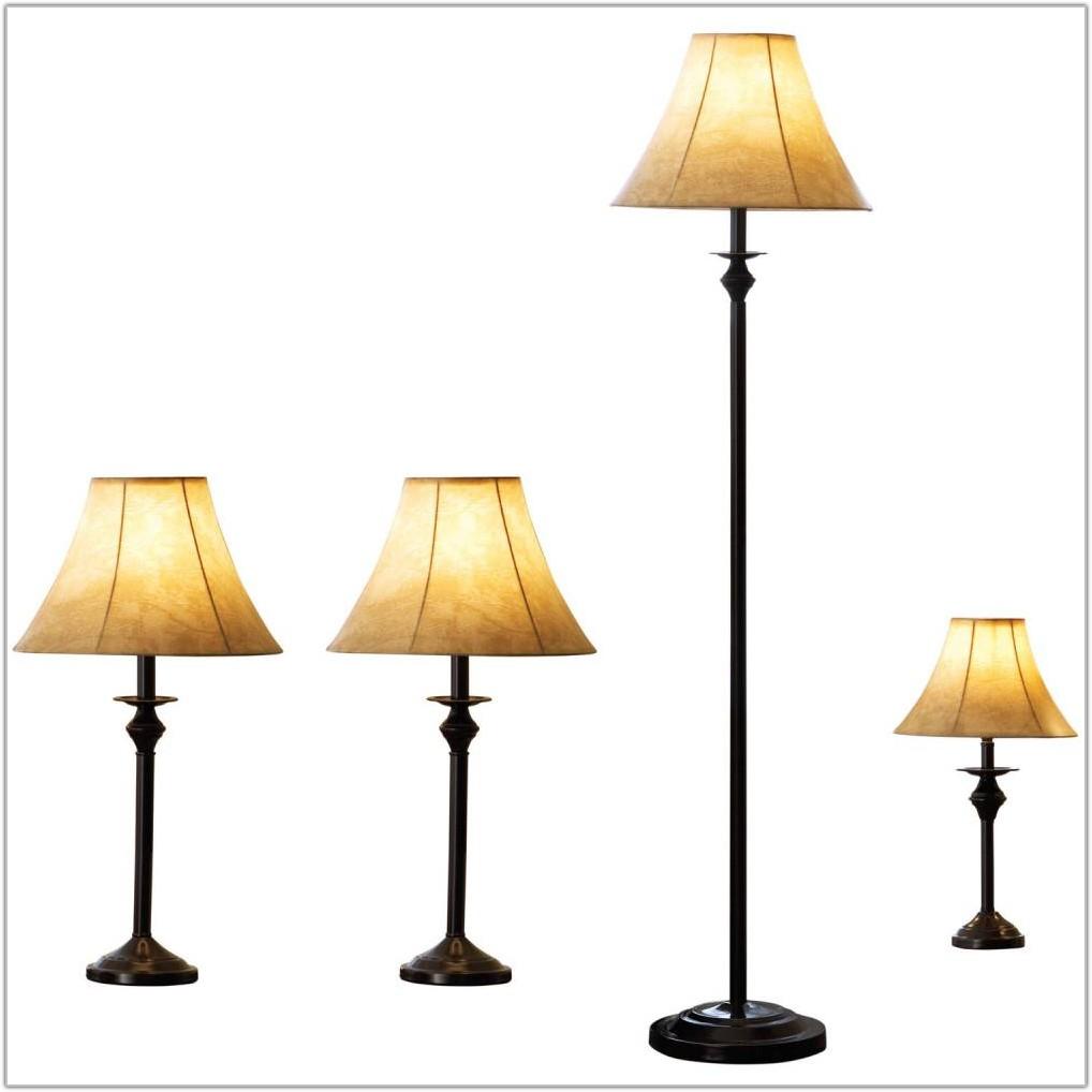 Walmart 4 Piece Lamp Set