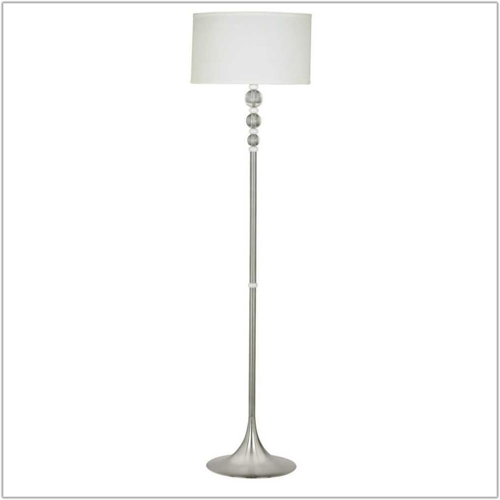 Wentworth Polished Brass Swing Arm Floor Lamp