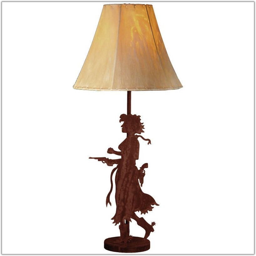 Western Lamp Shades For Table Lamps