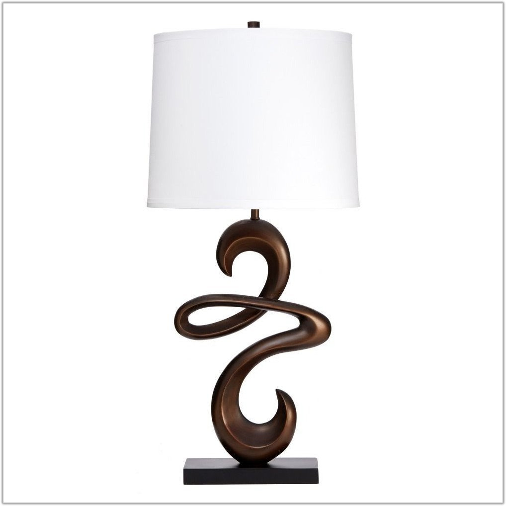 White Drum Table Lamp Shade