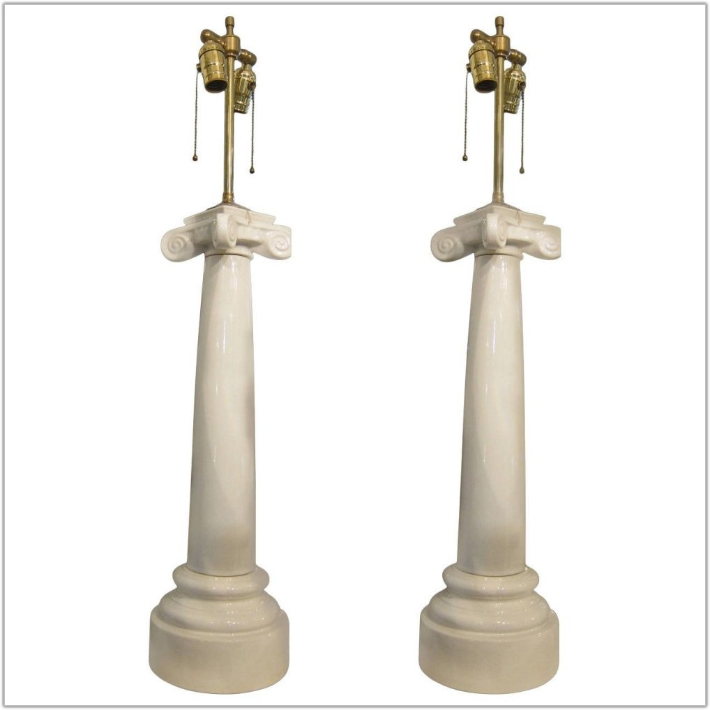 White French Style Table Lamps